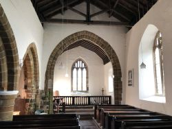 Ashby Puerorum Lincolnshire St Andrew interior looking east