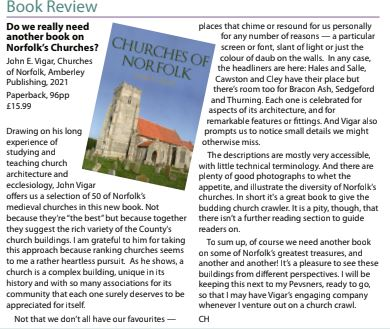 Norfolk Churches Review
