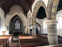 South Ormesby Lincolnshire St Leonard interior looking east