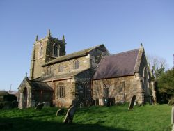 Tetford Lincolnshire St Mary exterior from SE