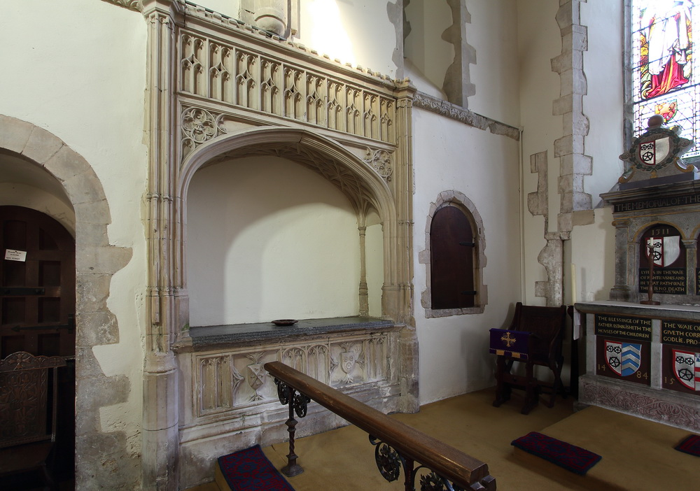 Easter Sepulchre at Brabourne Church Kent